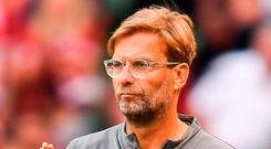 Klopp has given Liverpool a chance of contesting for the title with his summer spending spree. Photo: Sportsfile
