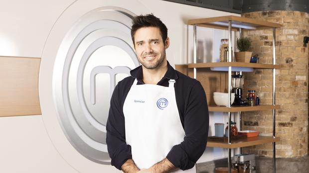 Spencer Matthews will appear in this year's Celebrity MasterChef (BBC)