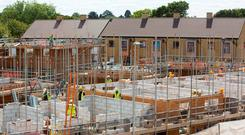 Government has been accused of failing to tackle housing crisis Stock photo: Bloomberg