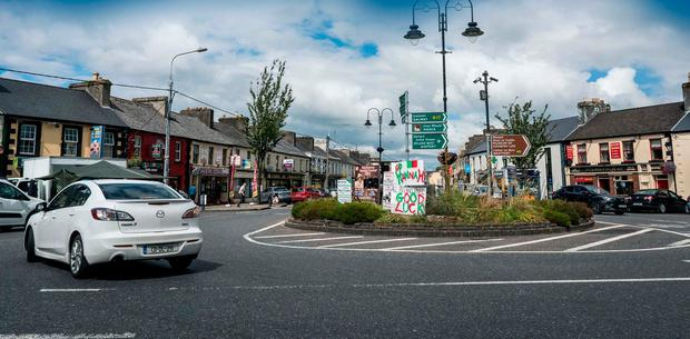 The population of Charlestown, Co Mayo, has been growing steadily in recent decades — even as the population of the overall county is reducing. Photo: Keith Heneghan