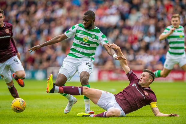 Hearts aim cheeky dig at Celtic after their nemesis scores a belter