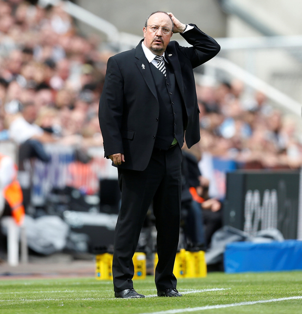 Newcastle United manager Rafael Benitez. Photo: Reuters