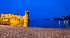 The church of Our Lady of the Angels located at Collioure harbour inspired both Matisse and Derain. Photo: france-voyage.com/tourism/collioure
