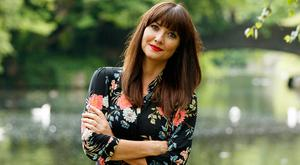 TV and radio presenter Jennifer Zamparelli in St Stephen's Green to launch a new campaign from Milupa. Picture: Andres Poveda