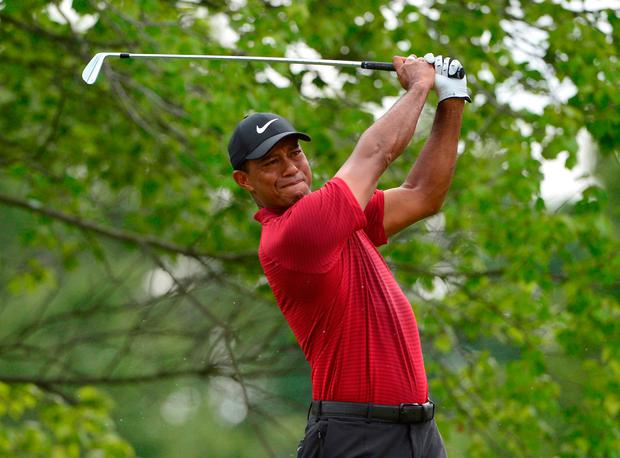 Tiger Woods narrowly missed out on his 15th major title