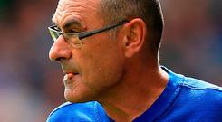Chelsea manager Maurizio Sarri. Photo: Mike Egerton/PA Wire
