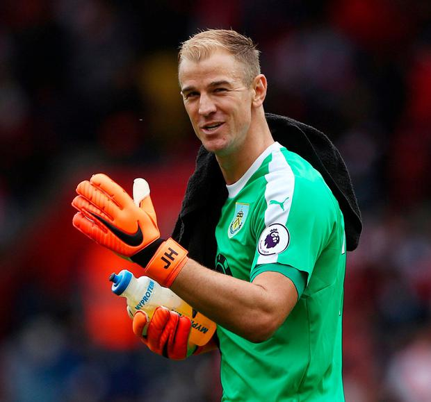Burnley's Joe Hart