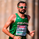 Sergiu Ciobanu came home 36th in 2:19:49. Photo by Sam Barnes/Sportsfile