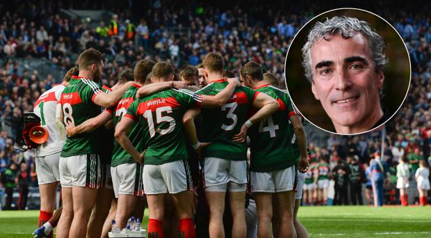 Jim McGuinness (inset) has been linked with Mayo