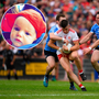 Caoimhe Hill McCann has been told she must pay €80 to bring her baby son Connla (left) to this year's All-Ireland final between Dublin and Tyrone.