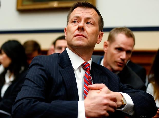 Fired by FBI: Peter Strzok. Photo: Reuters