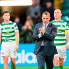 Celtic will play either Malmo of Sweden or MOL Vidi FC of Hungary in the Champions League play-offs if they come through what seems certain to be a searching test tonight. Photo: PA