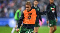 Daryl Horgan was sold to Scottish Premier League side Hibernian over the weekend and has agreed a three-year deal with his new employers. Photo: Seb Daly/Sportsfile