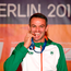 Thomas Barr got the medal his ability so richly deserves. Photo by Sam Barnes/Sportsfile