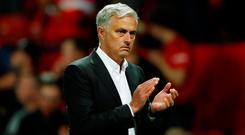 Manchester United manager Jose Mourinho. Photo: Action Images via Reuters/Andrew Boyers