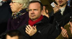 Manchester United's executive vice-chairman Ed Woodward. Photo: AFP/Getty Images