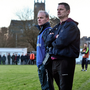TEST: Donoghue and Larkin. Picture credit: David Maher / Sportsfile