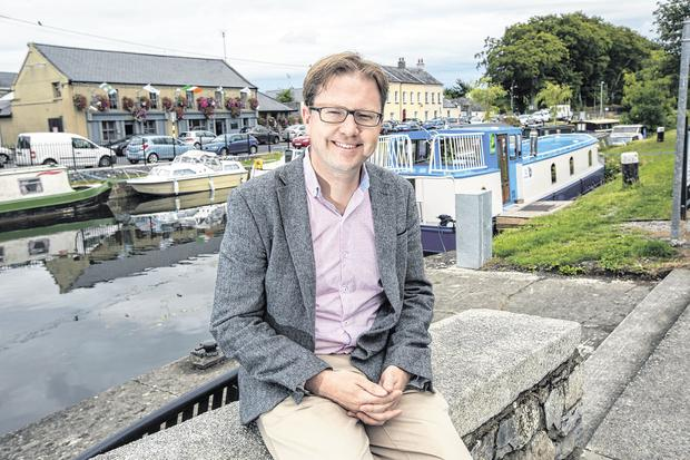 TD James Lawless in Sallins, Co Kildare. Photo: Tony Gavin
