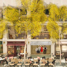 Cafe en Seine's new indoor-outdoor street garden