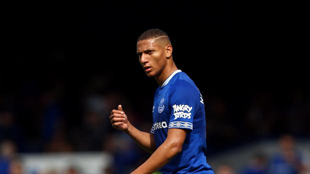 Richarlison has made a positive first impression at Everton (Dave Thompson/PA)