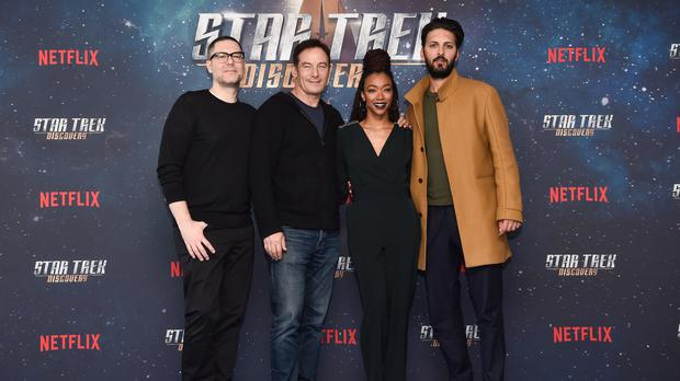 The actor cast as the new Spock in Star Trek: Discovery has thanked the family of Leonard Nimoy (Matt Crossick/PA)
