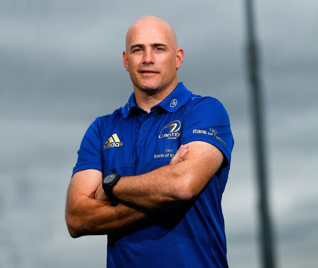Backs coach Felipe Contepomi says Leinster have moved forward since his time as a player. Photo: Ramsey Cardy/Sportsfile