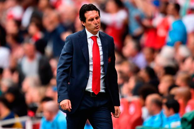 CRITICISM: Arsenal boss Unai Emery. Photo: AFP/Getty Images