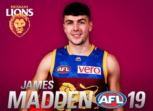 Madden after joining up with Brisbane Lions