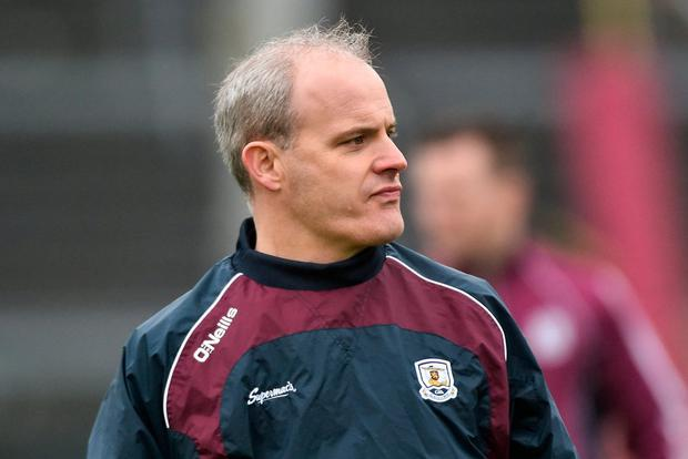 COMPOSED: Galway manager Micheál Donoghue. Photo: David Maher/Sportsfile
