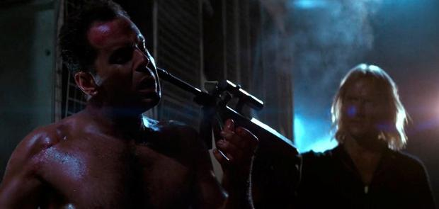 Hechler & Koch machine-guns were used by the villains in the original 'Die Hard' movie
