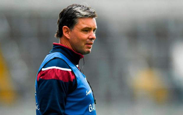 Galway manager Jeffrey Lynskey. Photo: David Fitzgerald/Sportsfile
