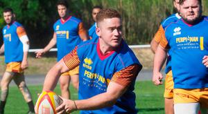 Paddy Jackson, in training with his new French club, helped Perpignan beat Toulouse 21-19 in a pre-season friendly last week in his first action for over a year. Photo: Getty