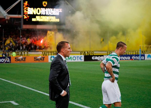 Celtic's Champions League hopes ended by AEK