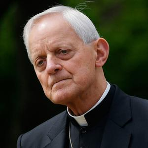 Accused: The Archbishop of Washington Donald Wuerl. Photo: AFP
