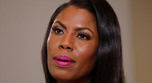 Former White House aide Omarosa Manigault Newman during an interview in New York yesterday. Photo: Reuters