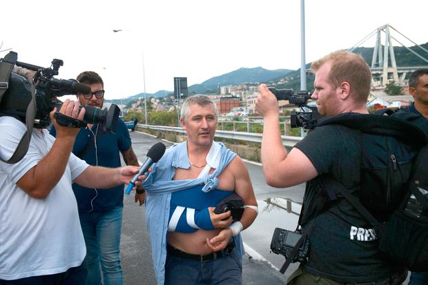 Anger grows in Italy as Morandi bridge toll hits 39