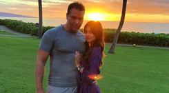 Dane Cook and girlfriend Kelsi Taylor. Picture: Instagram