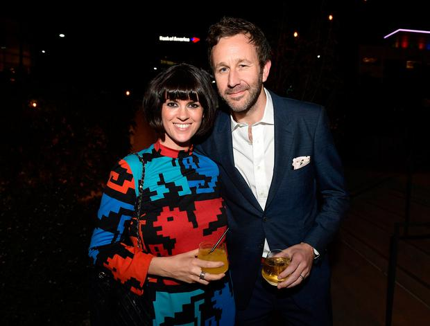 Dawn O'Porter and Chris O'Dowd attend the SAG-AFTRA Foundation Patron of the Artists Awards 2017 at the Wallis Annenberg Center for the Performing Arts on November 9, 2017 in Beverly Hills, California. (Photo by Matt Winkelmeyer/Getty Images for SAG-AFTRA Foundation )