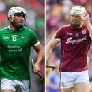 Aaron Gillane, Joe Canning and Darragh Fitzgibbon
