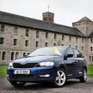 The Pope will travel in a Skoda Rapid on his Irish visit