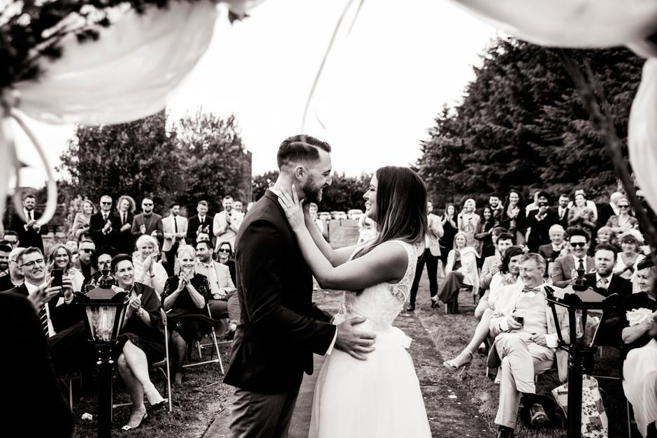 Real Wedding: Inside Lauren And Tom's 'simple And Fun