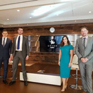 GECKO Governance team: Director of Business Development, Andris Macs; Manager of Business Development, Patrick Purcell; Head of Risk and Compliance, Michelle McGuire; and GECKO Governance CEO and Co-Founder Shane Brett