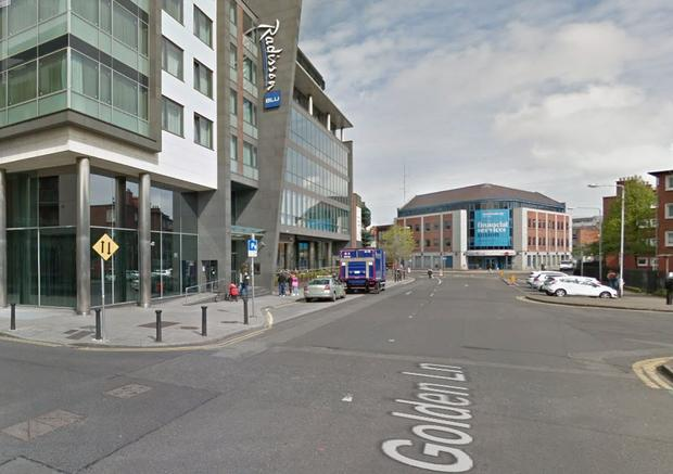 The attack allegedly happened on Golden Lane Photo: Google Maps