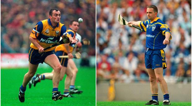Anthony Daly (left) and Davy Fitzgerald (right).