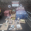 Approximately €100,000 worth of cannabis, €132,000 worth of cigarettes and tobacco as well as €20,000 in cash were recovered during the raid Photo: Garda Press Office