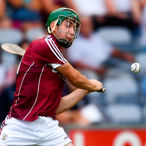 IN THE RED: Galway's Brian Concannon. Photo: Sportsfile