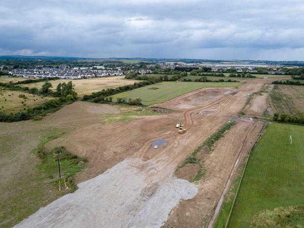 Lands under development at Donabate, Co Dublin. Photos: Colin O'Riordan