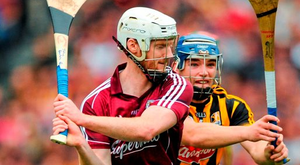Galway's John Hanbury. Photo: Sportsfile