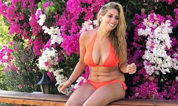 Stacey Solomon shared this bikini picture on Instagram
