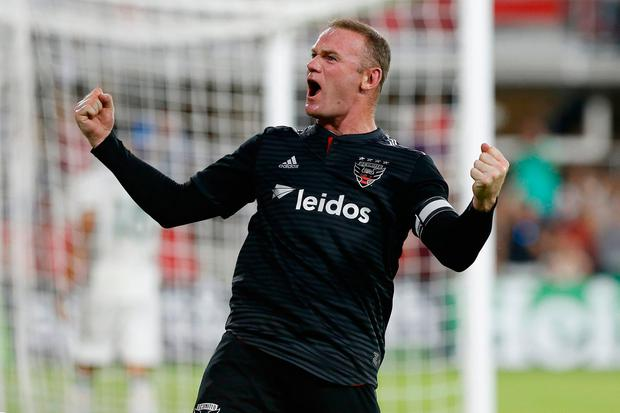 DC United forward Wayne Rooney